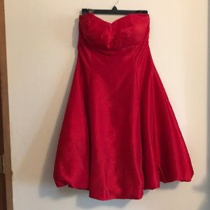 Fiesta red party dress